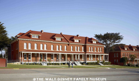 The Walt Disney Family Museum Exterior