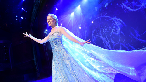 Frozen a Musical Spectacular Coming to Disney Wonder November 2016