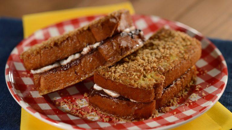 S'more French Toast Breakfast Sandwich