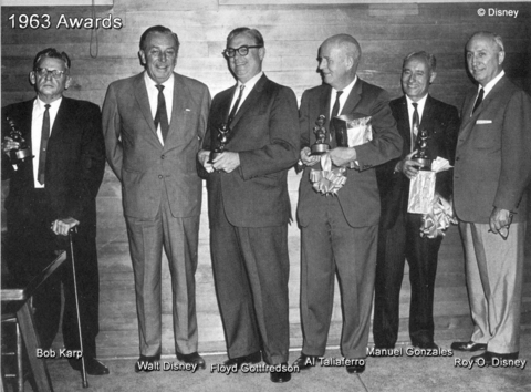 1963 Disney Awards