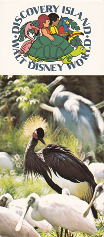 1979 Postcard Book - Discovery Island