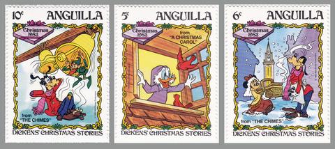 1983 Anguilla Christmas