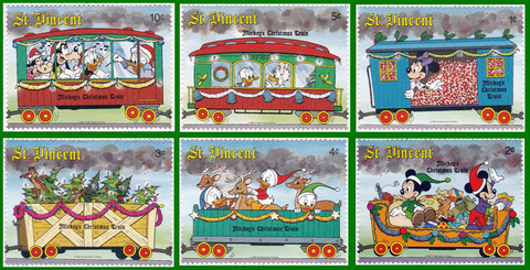 1988 St. Vincent Christmas Train