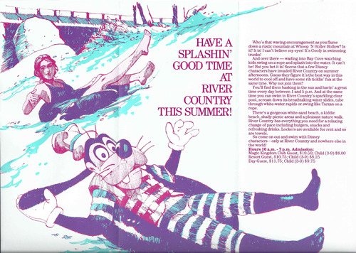 1989 River Country Brochure Inside