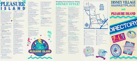 1991 Walt Disney World Village and Pleasure Island