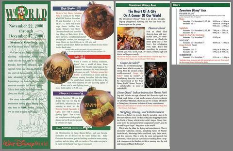 2000 Christmas Brochure