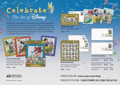 2005 Celebrate The Art Of Disney Advertising Poster