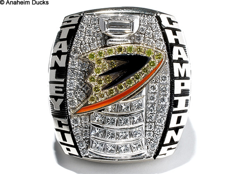 2007 Stanley Cup Ring