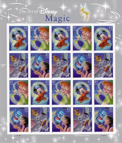 2007 The Art Of Disney Magic Sheet