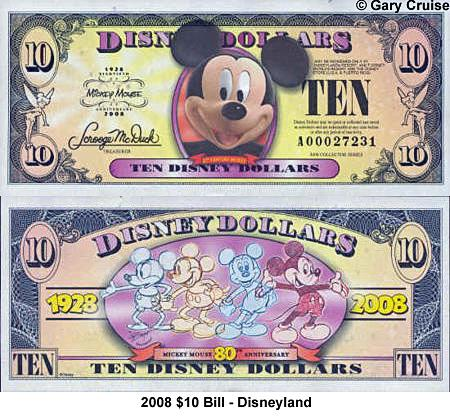 picture relating to Disney Dollars Printable called Disney Money - A Pocketful Of Pixie Grime - AllEars.Web