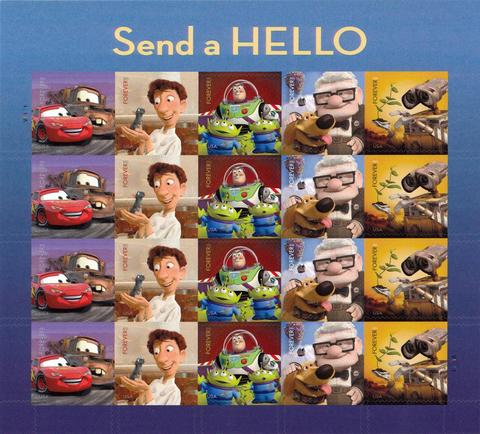2011 Send A Hello Sheet