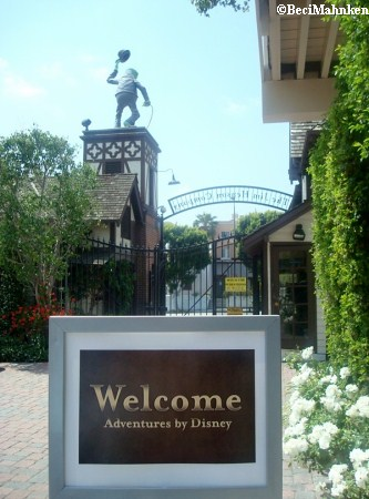 Welcome Sign at Henson Studios