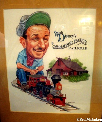 Walt Disney and Trains