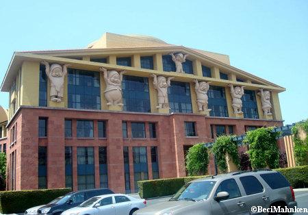 Walt Disney Studios Building