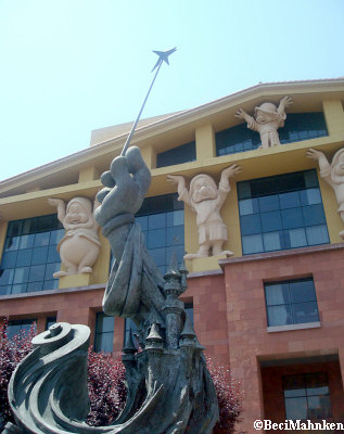 Walt Disney Studios - Disney's Legends Plaza