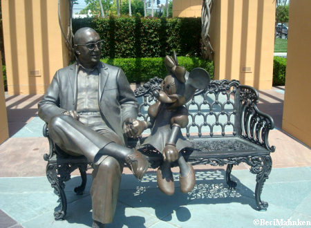 Walt Disney Studios - Disney's Legends Plaza Bench