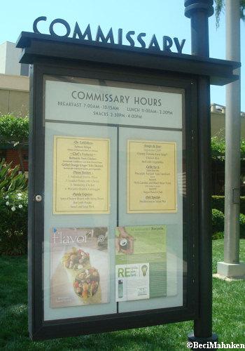Walt Disney Studios - Commissary
