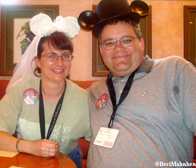 Another Anniversary Couple on the Adventures by Disney