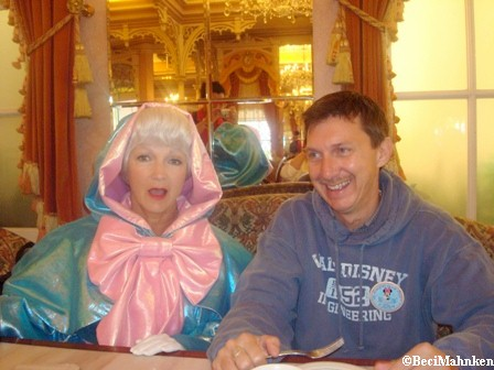 Fairy Godmother and Jim at the Plaza Inn