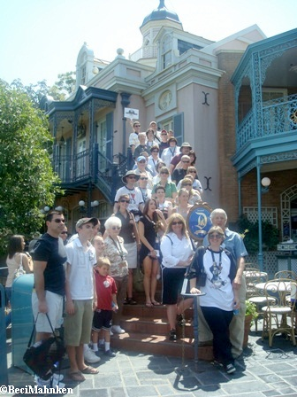 New Orleans Square Stairs
