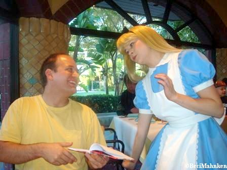 Alice at Goofy's Kitchen