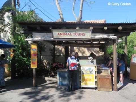 Curiosity Tours kiosk