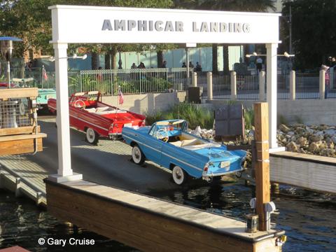 Amphicar Landing