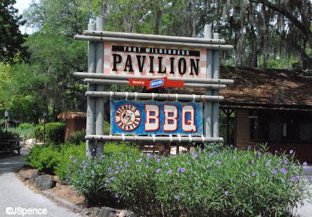 BBQ Pavilion Sign