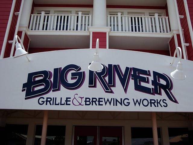 Big River Grille Signage