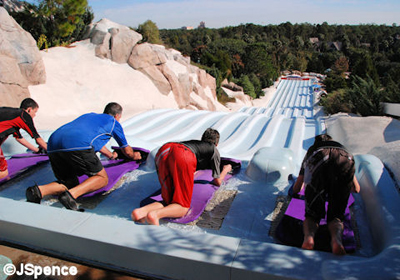 Blizzard Beach Toboggan Racers