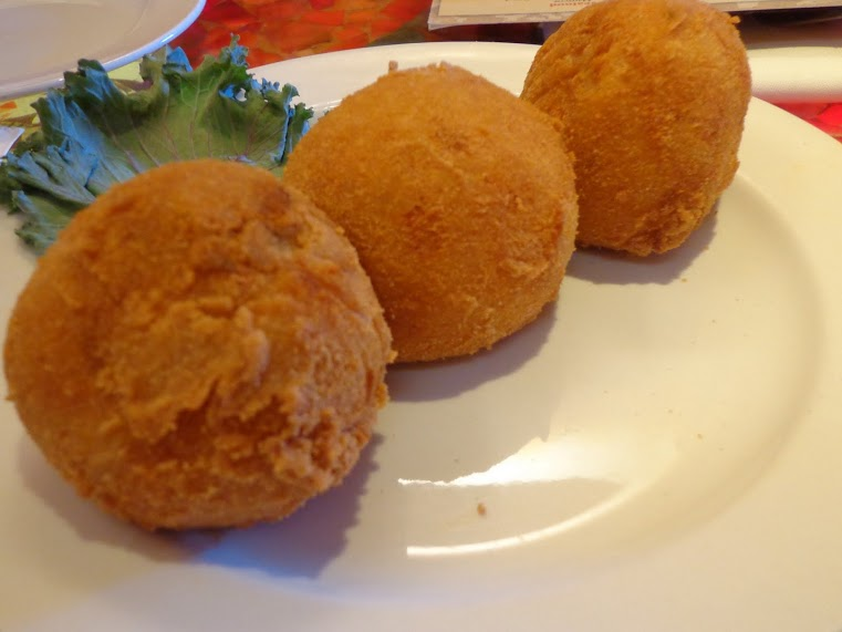Bongo's Fried Stuffed Potatoes