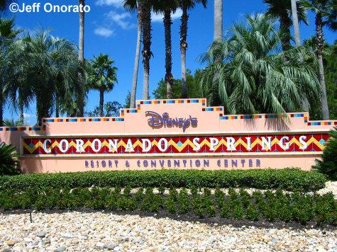 Coronado Springs Sign