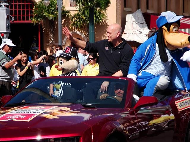 Cal Ripken Motorcade