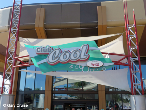 Club Cool sign