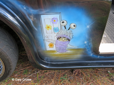 Custom Disney Golf Cart Boo