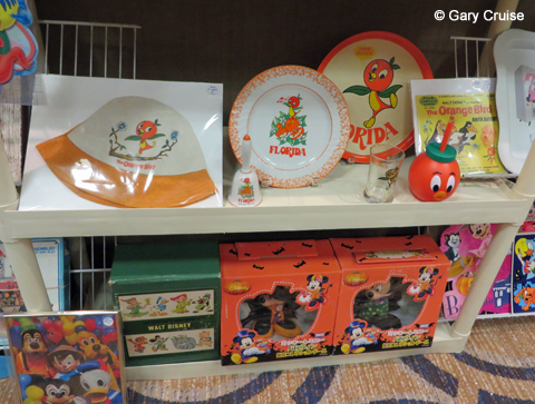 Orange Bird collectibles