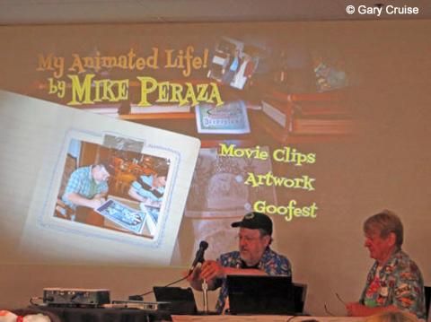 Mike Peraza and Bill Farmer