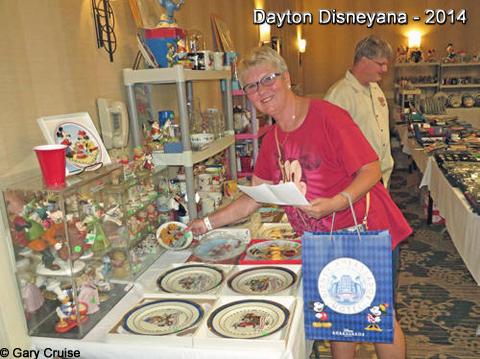 Dayton Disneyana 2014 Plates