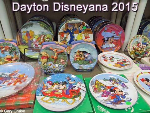 Dayton Disneyana 2015 Plates