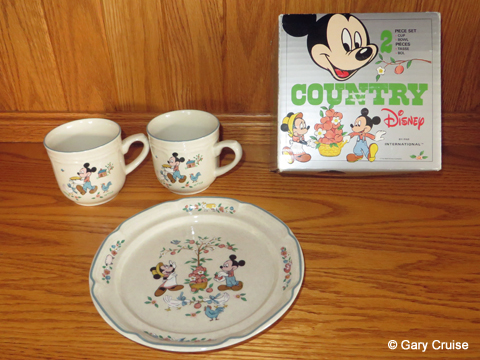 Disney dishes