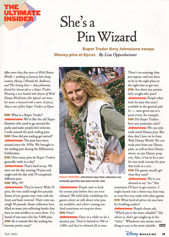 Disney Magazine Fall 2001