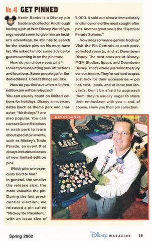 Disney Magazine Spring 2002