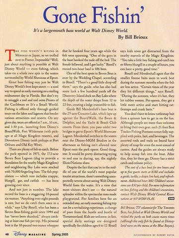 Disney Magazine Spring 2003 page 40
