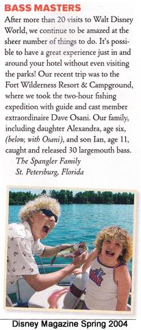 Disney Magazine Spring 2004 page 15