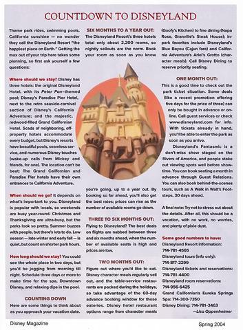 Disney Magazine Spring 2004 page 35