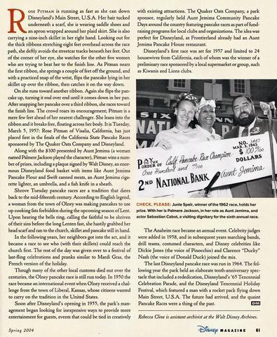Disney Magazine Spring 2004 pg 61