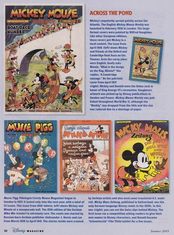 Disney Magazine Summer 2003 pg 52