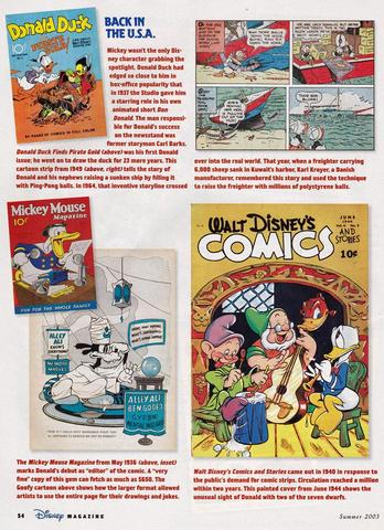 Disney Magazine Summer 2003 pg 54
