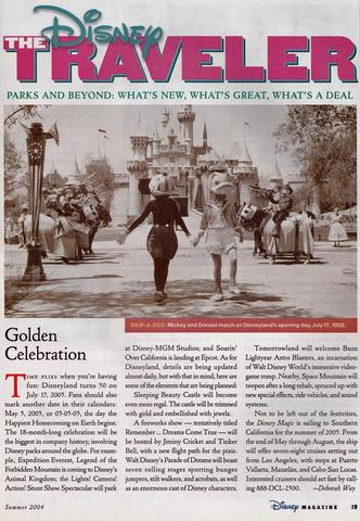 Disney Magazine Summer 2004 pg 19
