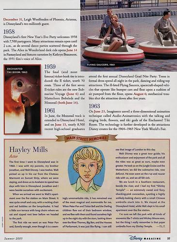 Disney Magazine Summer 2005 pg 37